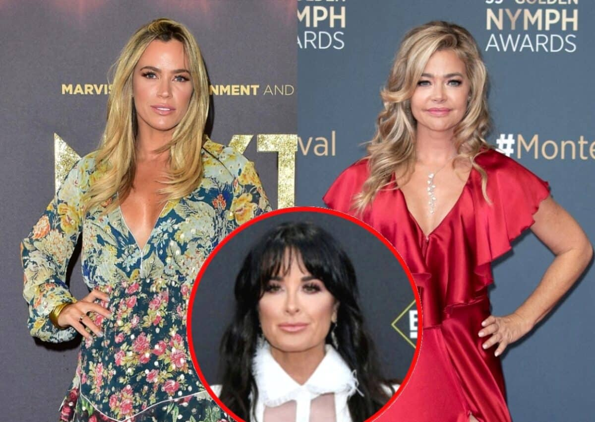 RHOBH's Teddi Mellencamp Reveals If She's Spoken to Denise Richards and Confirms If Production Made Her Invite the Entire Cast to Her Wellness Retreat, Plus She Talks Kyle Richards Friendship Backlash