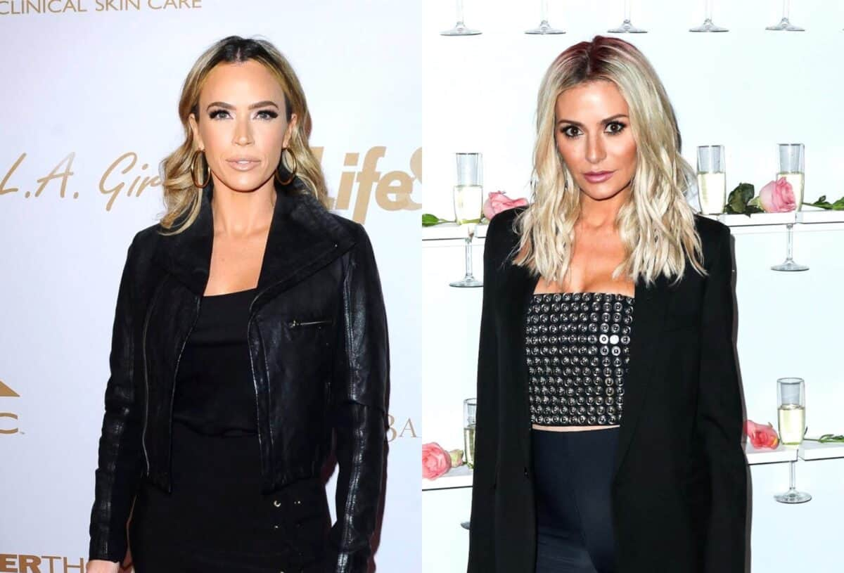 RHOBH Star Teddi Mellencamp Shades Dorit Kemsley's Accent and Questions Her Intentions for Coming to Her All In Event as Dorit Claps Back on Twitter