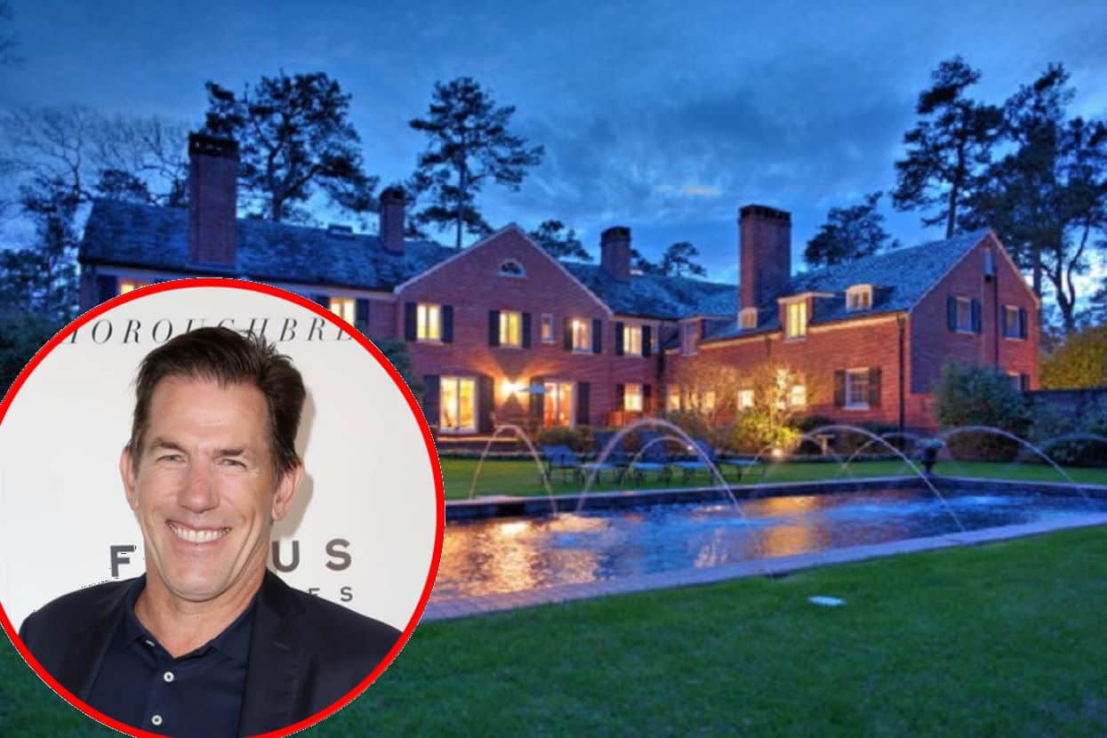 PHOTOS: Southern Charm's Thomas Ravenel Buys $1.8 Million Home, See Inside His Historic New Property