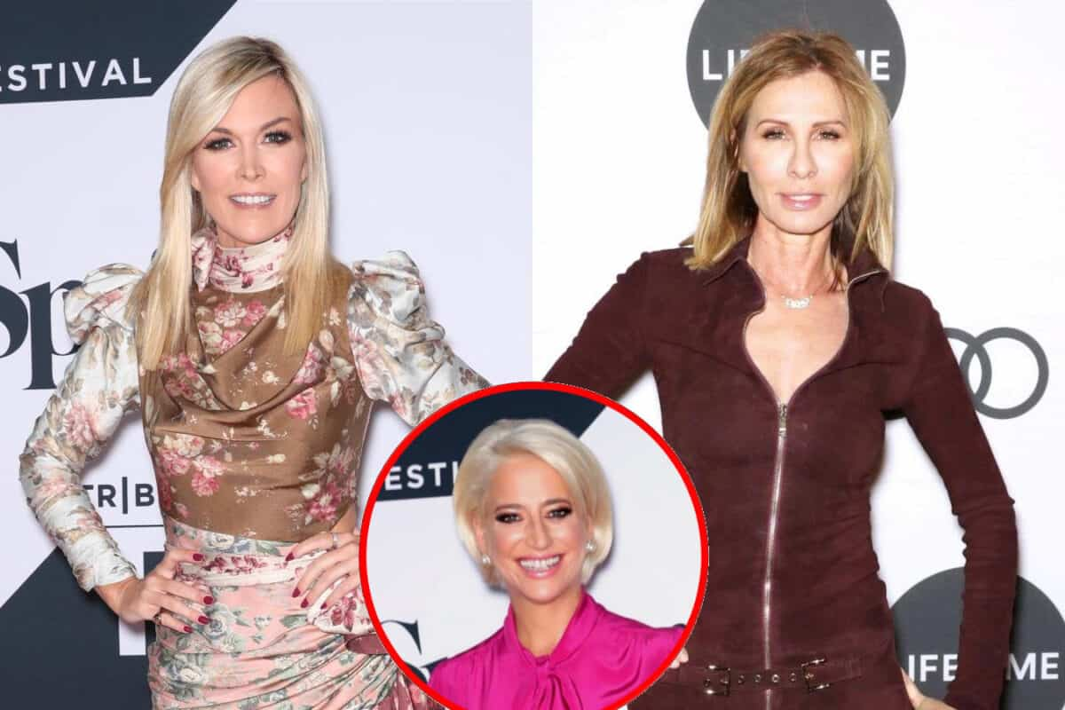 RHONY Star Tinsley Mortimer Shares Update on Relationship With Carole Radziwill, Slams Dorinda Medley's Insinuations About Relationship and Dishes on Wedding Plans