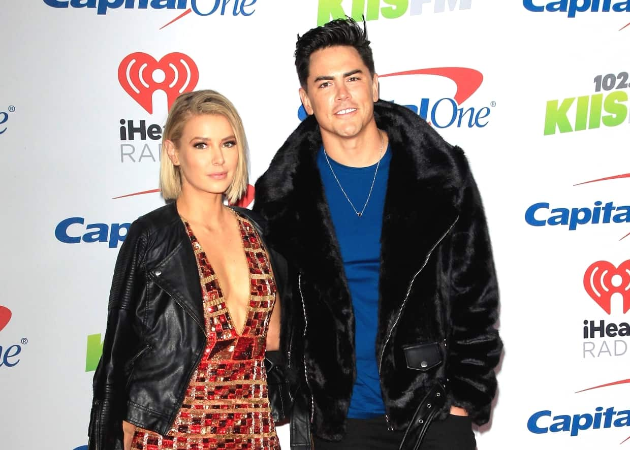 Vanderpump Rules' Tom Sandoval and Ariana Madix Offer an Update on Marriage Topic, Address Backlash Over Their New Home and Deny They Bit Off More Than They Can Chew With Property