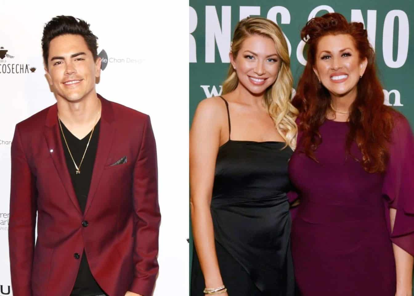 Tom Sandoval Responds to Criticism from Stassi's Mom Dayna Schroeder About Him Being Rude to Her at Vanderpump Rules Costars Jax and Brittany's Wedding