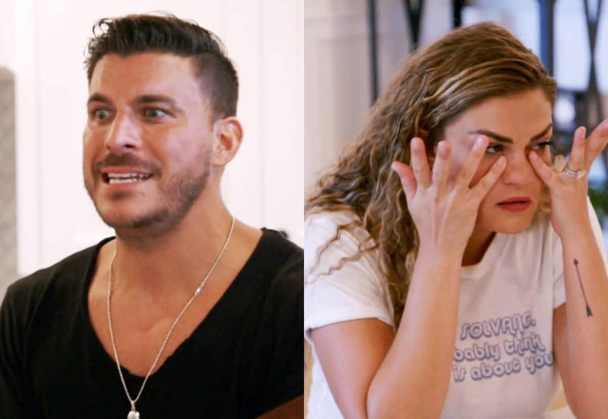 "Vanderpump Rules Recap: Jax Rages Against Costars While Brittany Cries as He Blames ""Mental Issues"""