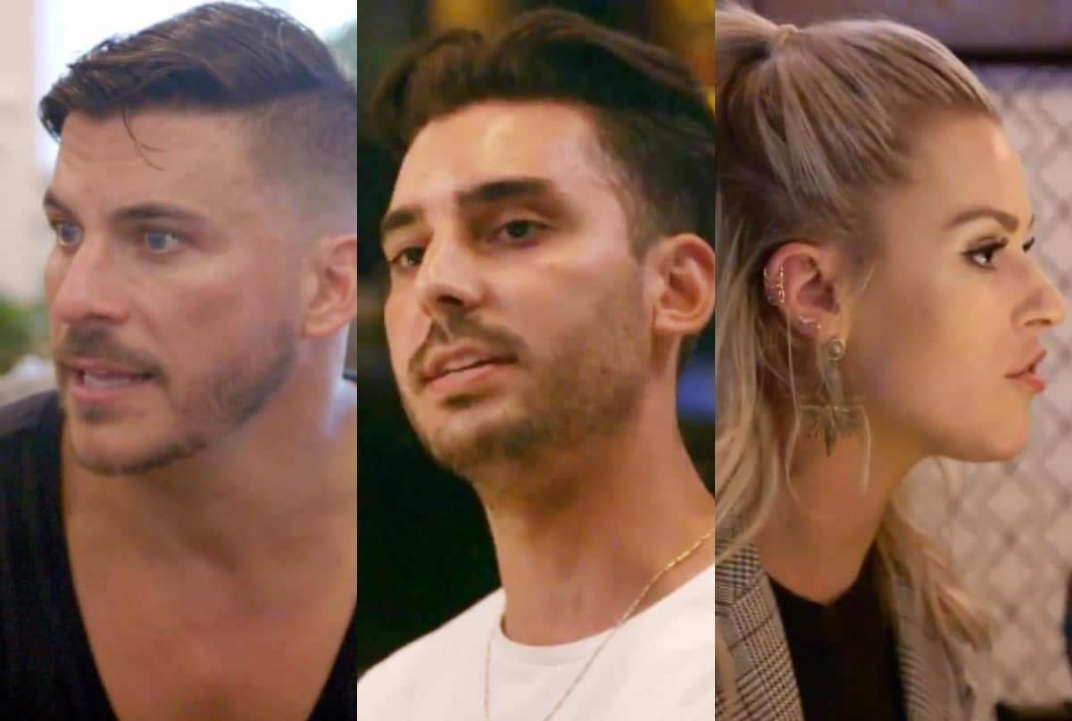 Vanderpump Rules Recap: Jax Admits to Losing His Mind and Max Freaks Out Over Dayna