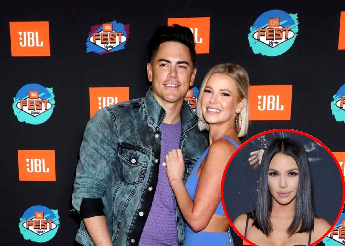 """Tom Sandoval Addresses if He Still Wants Children With Ariana Madix as They Call Scheana Shay the """"MVP"""" of Vanderpump Rules, Plus Ariana Talks Katie and Stassi's Feud With Kristen"""