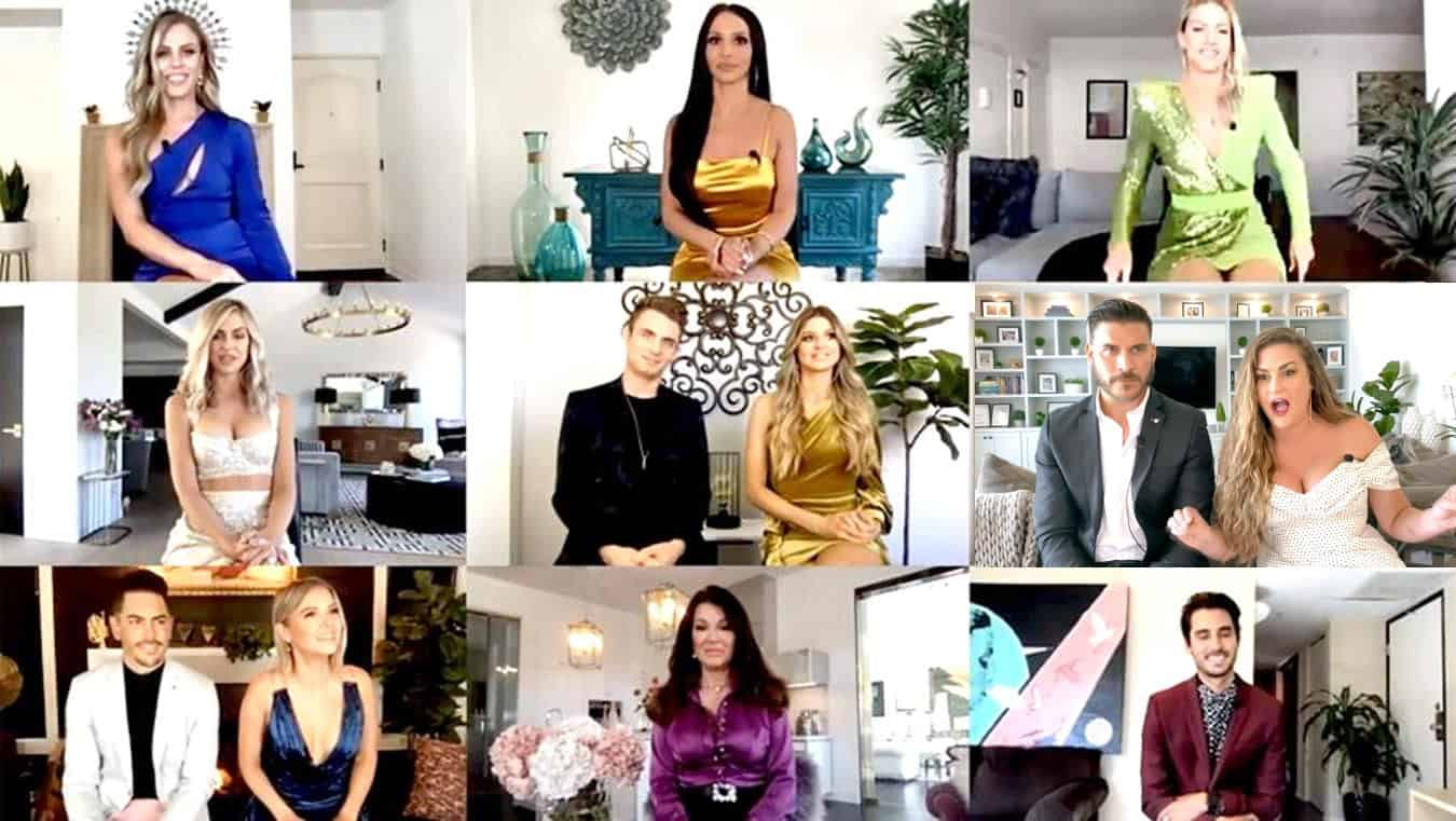 "VIDEO: Watch the Vanderpump Rules Virtual Reunion Trailer! Stassi Faces Off With Kristen as Tom Sandoval Loses It and Jax Tells New Cast Member Charli to ""Know [Her] Role"""