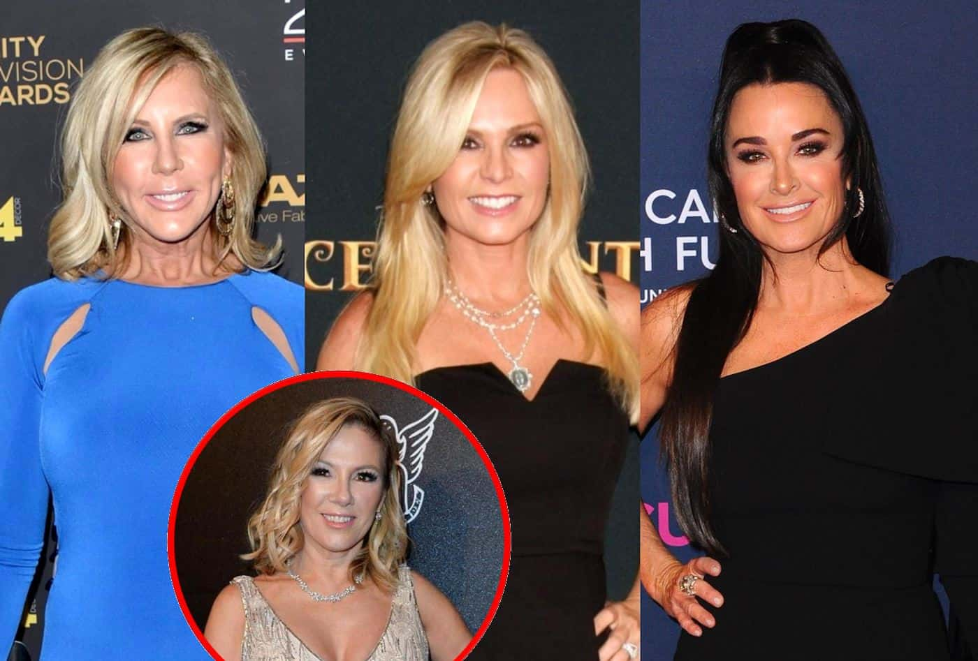 "RHOC's Vicki Gunvalson and Tamra Judge Shade Kyle Richards for Getting a ""Million Dollar"" Paycheck to ""Play it Safe"" on the RHOBH, Plus Vicki Calls Out Ramona Singer"