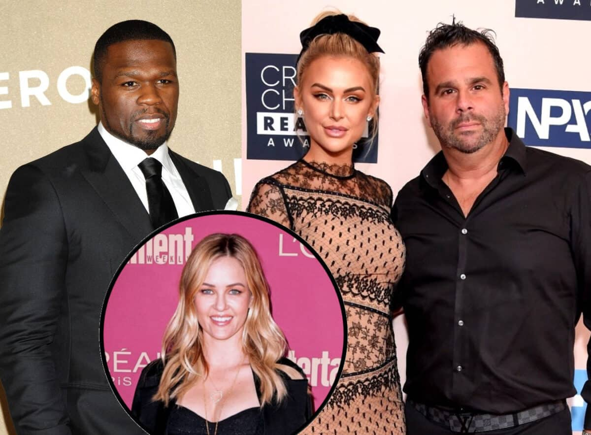 50 Cent Slams Lala Kent for Mentioning Him on Vanderpump Rules Reunion, Offers Update on Feud and Shades Randall Emmett With Comment About His Ex-Wife Ambyr Childers