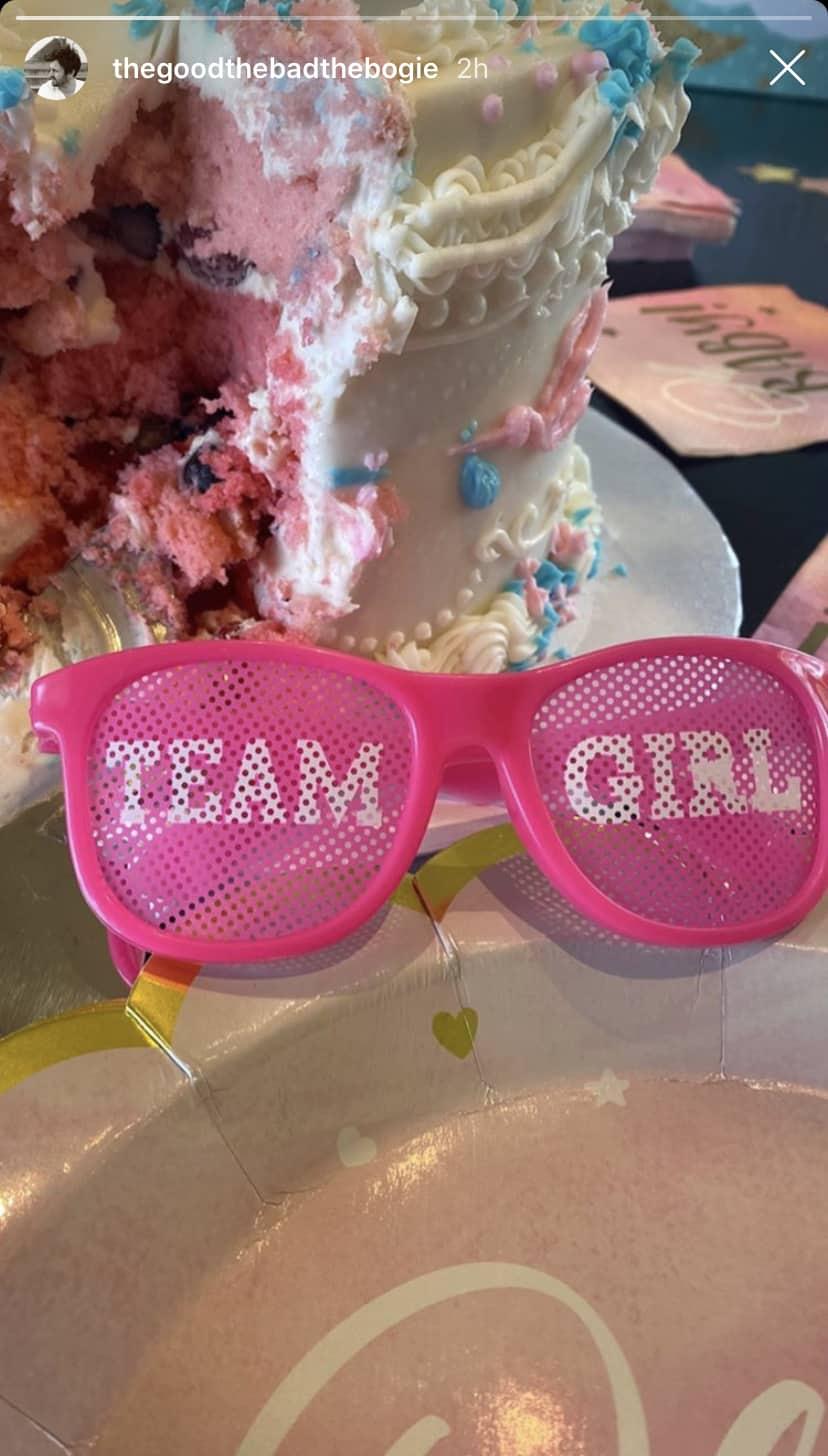 Vanderpump Rules Beau Clark Shares Photo of Gender Reveal Cake