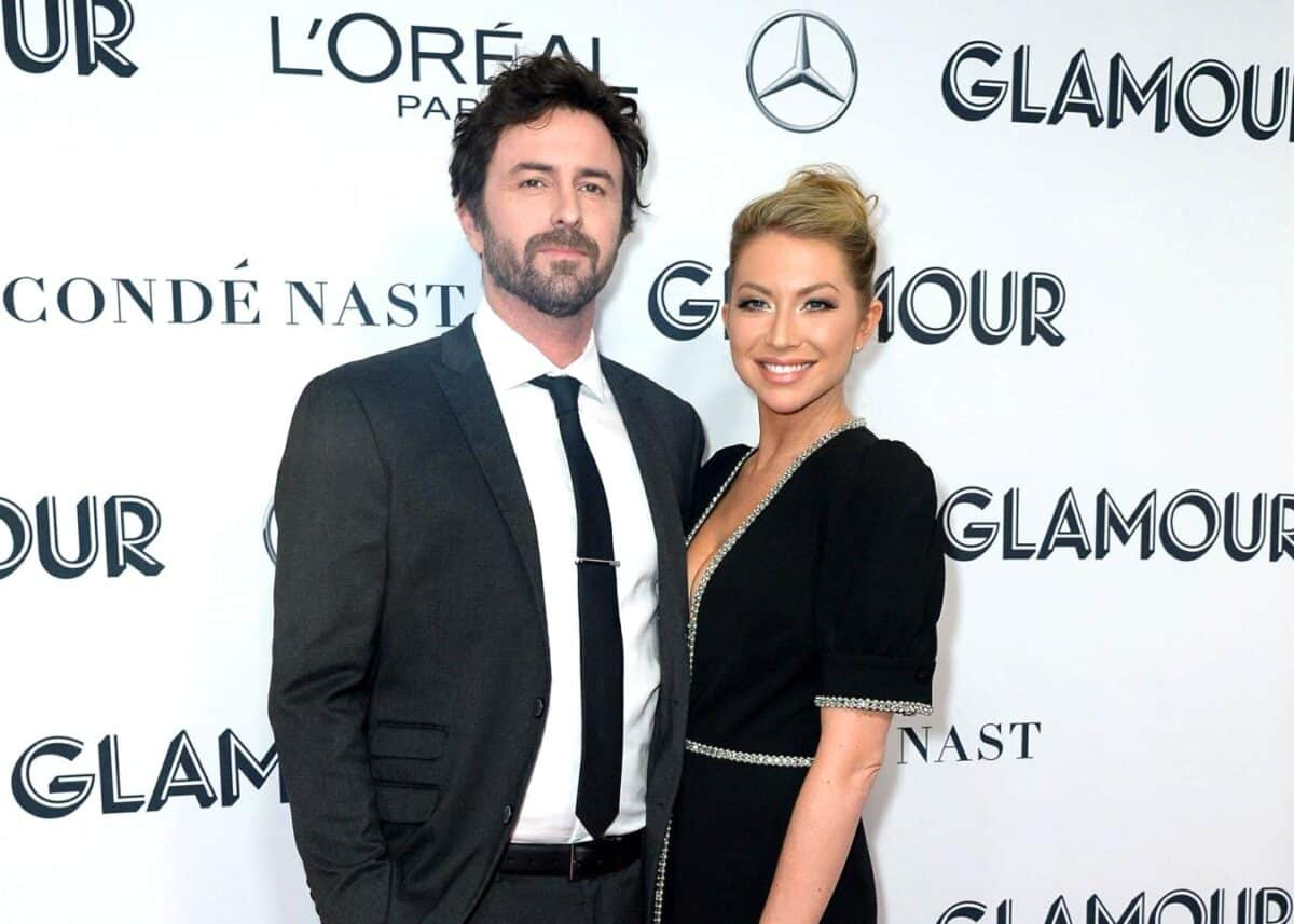 "PHOTOS: Pregnant Stassi Schroeder Shares New Pic of Baby Bump as Fiancé Beau Clark Shows Off ""Nice"" Outdoor Space at Their Los Angeles Home After Her Vanderpump Rules Firing"