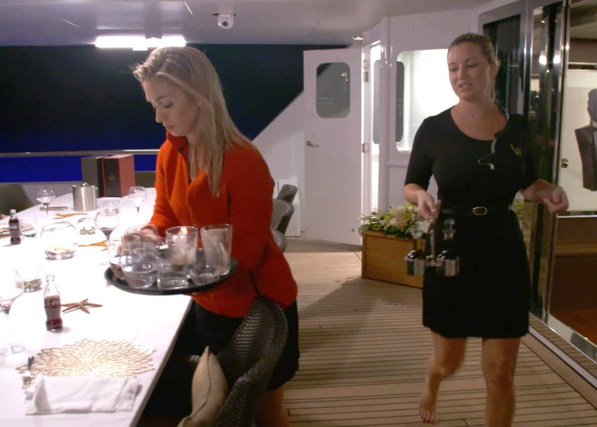 Below Deck Mediterranean Recap: Captain Sandy is Back; Lara and Hannah Butt Heads