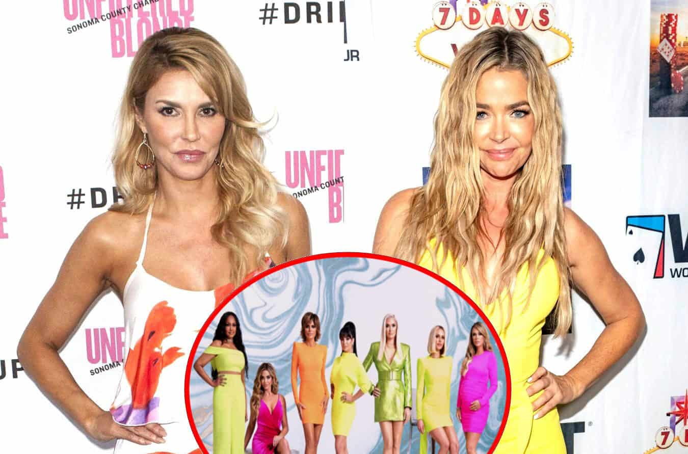Brandi Glanville Admits She First Told a RHOBH Costar Off-Camera About Affair Claim Before Sharing Allegation on Camera, Brings Up Denise Richards' Relationship With Her Ex-BFF Heather Locklear's Former Husband Richie Sambora, Plus Live Viewing Thread