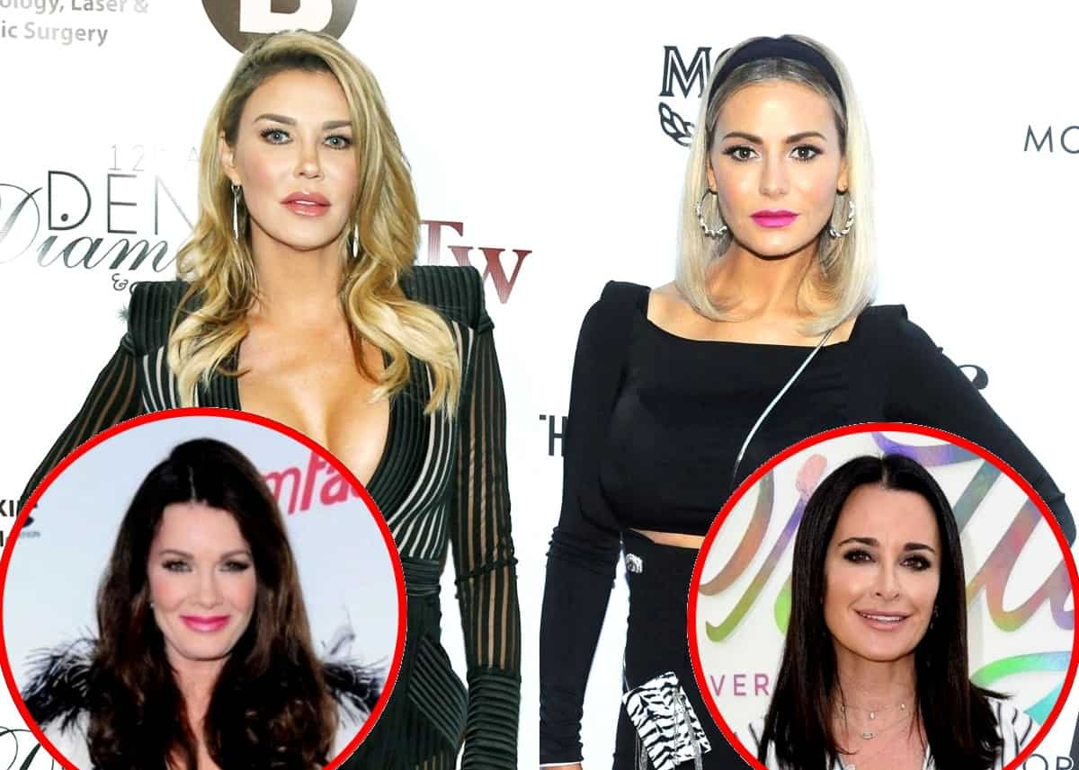 "Brandi Glanville Shades Dorit Kemsley: ""Honey Go Find a New Accent,"" Plus She Denies Being a ""Bad Person"" to Lisa Vanderpump and Defends Kyle as the ""Mother Hen"" of RHOBH"