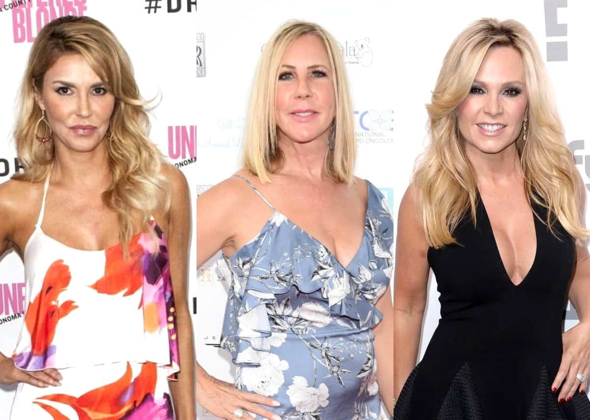 "Brandi Glanville Shades Vicki Gunvalson and Tamra Judge as ""One-Trick Ponies,"" Plus She Shares Why RHOA is ""More Real"" Than RHOBH and Why Sutton Isn't A Great Housewife"
