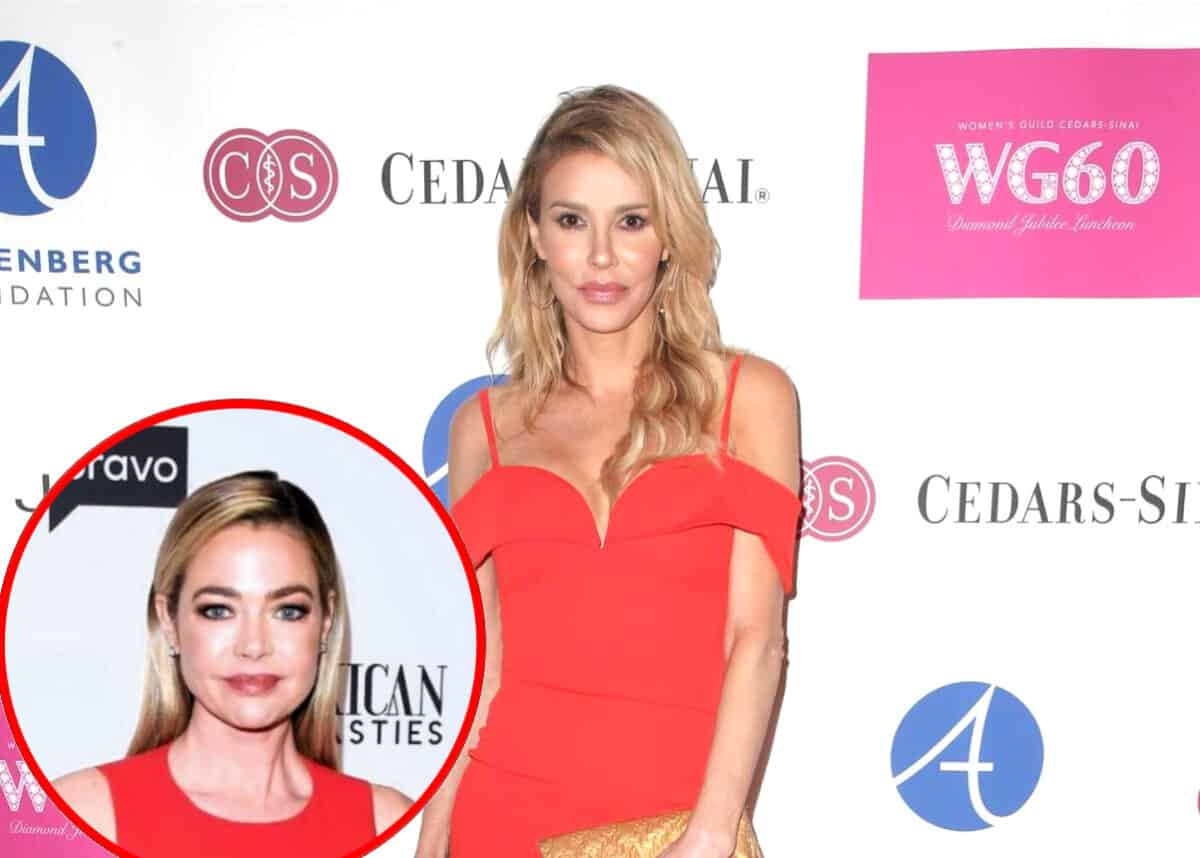 "Brandi Glanville Confirms Real Housewives ""Can't Sue Each Other"" But Admits She's Worried About Legal Threat From Denise Richards, Addresses Denise's Drama With RHOBH Cast"