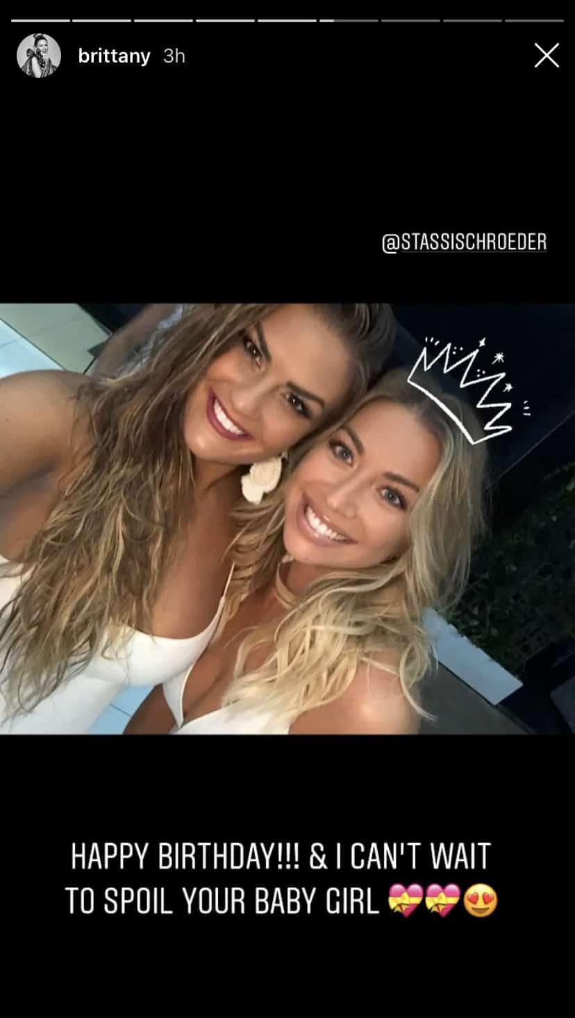 Vanderpump Rules Brittany Cartwright Wishes Stassi Schroeder a Happy Birthday