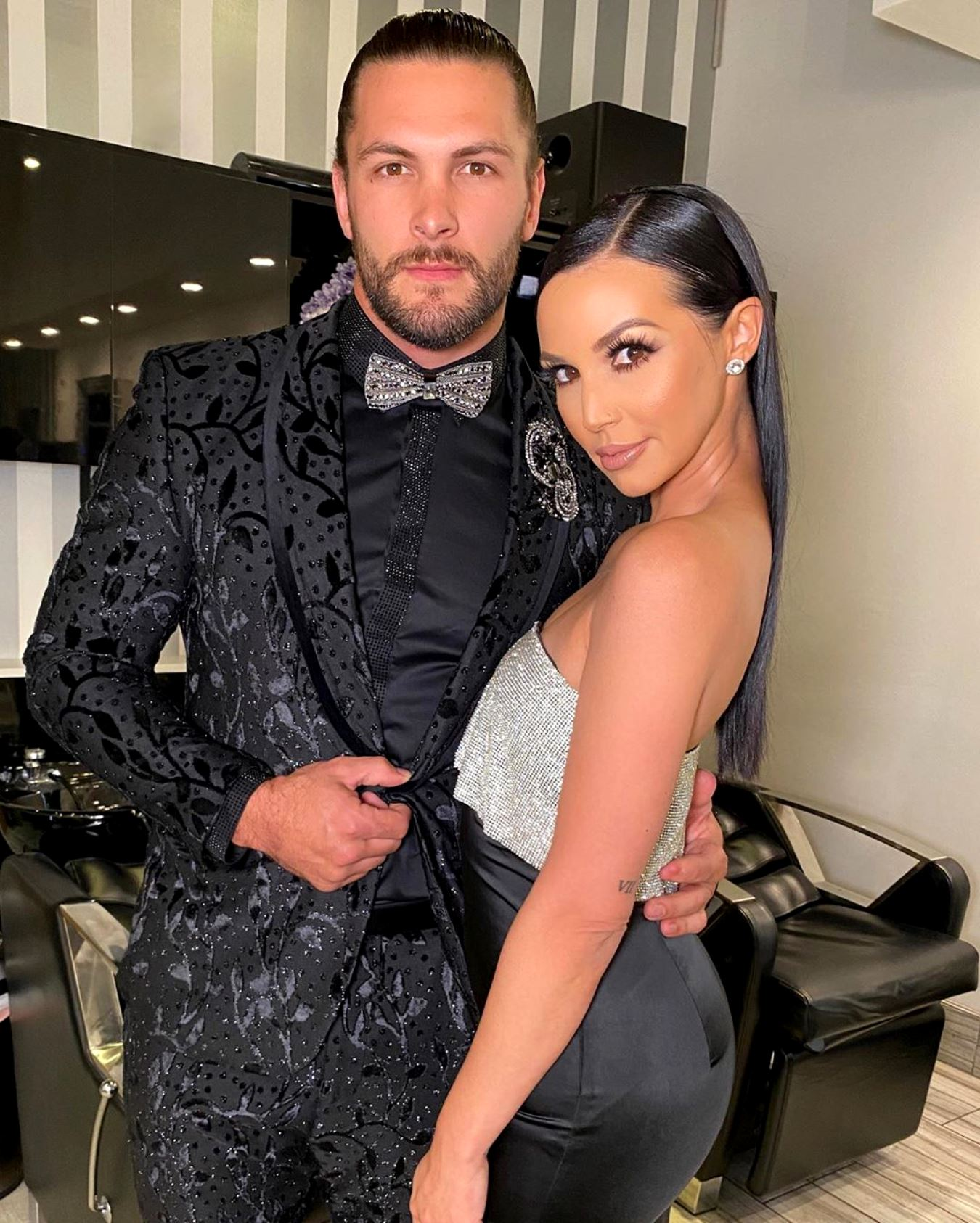 Scheana Shay Defends Boyfriend Brock Davies' Parenting After Fan's Comment Following Their Miscarriage Reveal, Plus He Tells Fans He Has Scheana's Back Amid Heartbreak