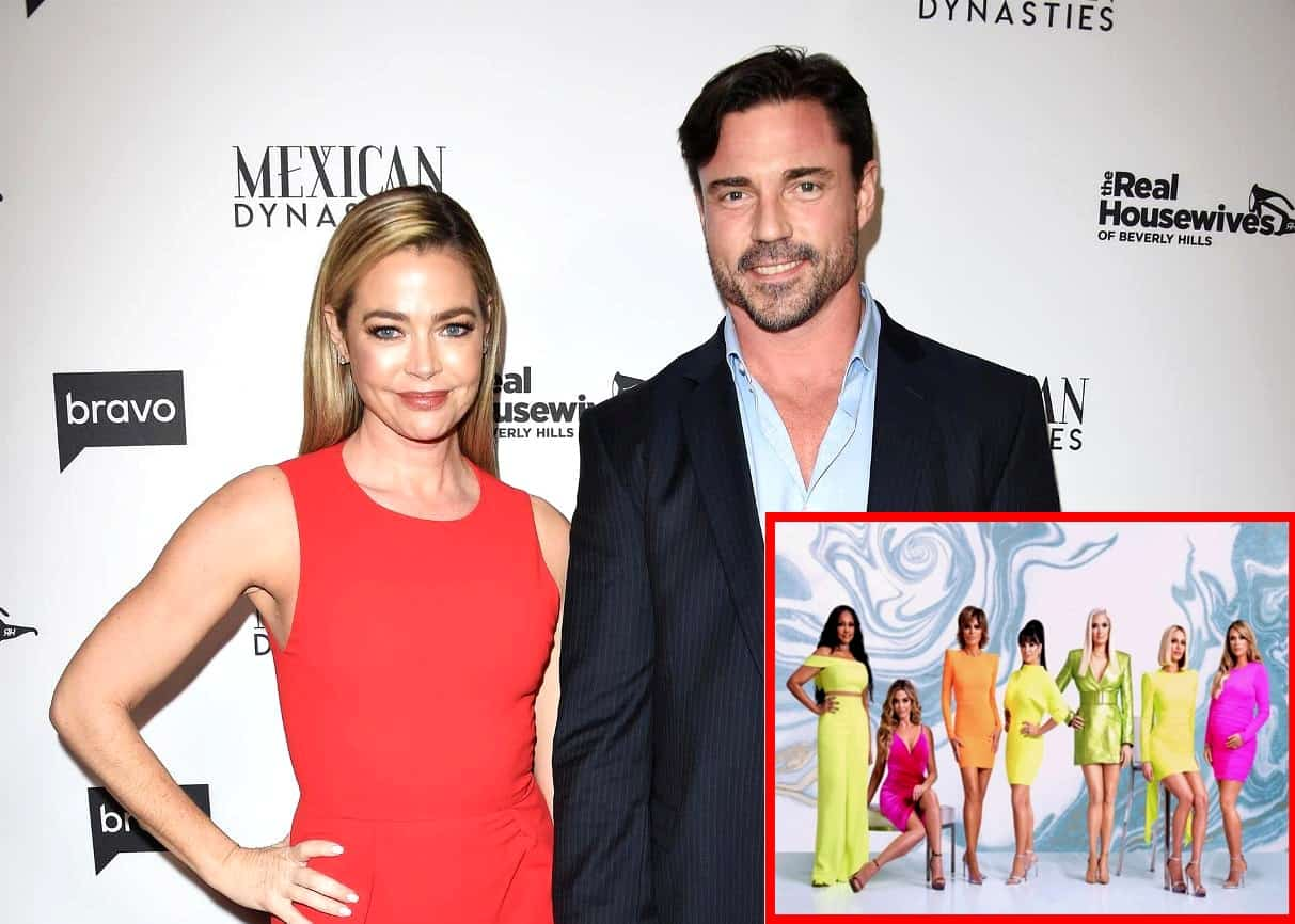 "REPORT: The RHOBH Cast Felt Denise Richards' Husband Aaron Phypers Was ""Overly Dramatic"" and ""Acting for the Cameras"" During Kyle Richards' Party, Were Surprised to See Her Defend His Shocking Behavior"