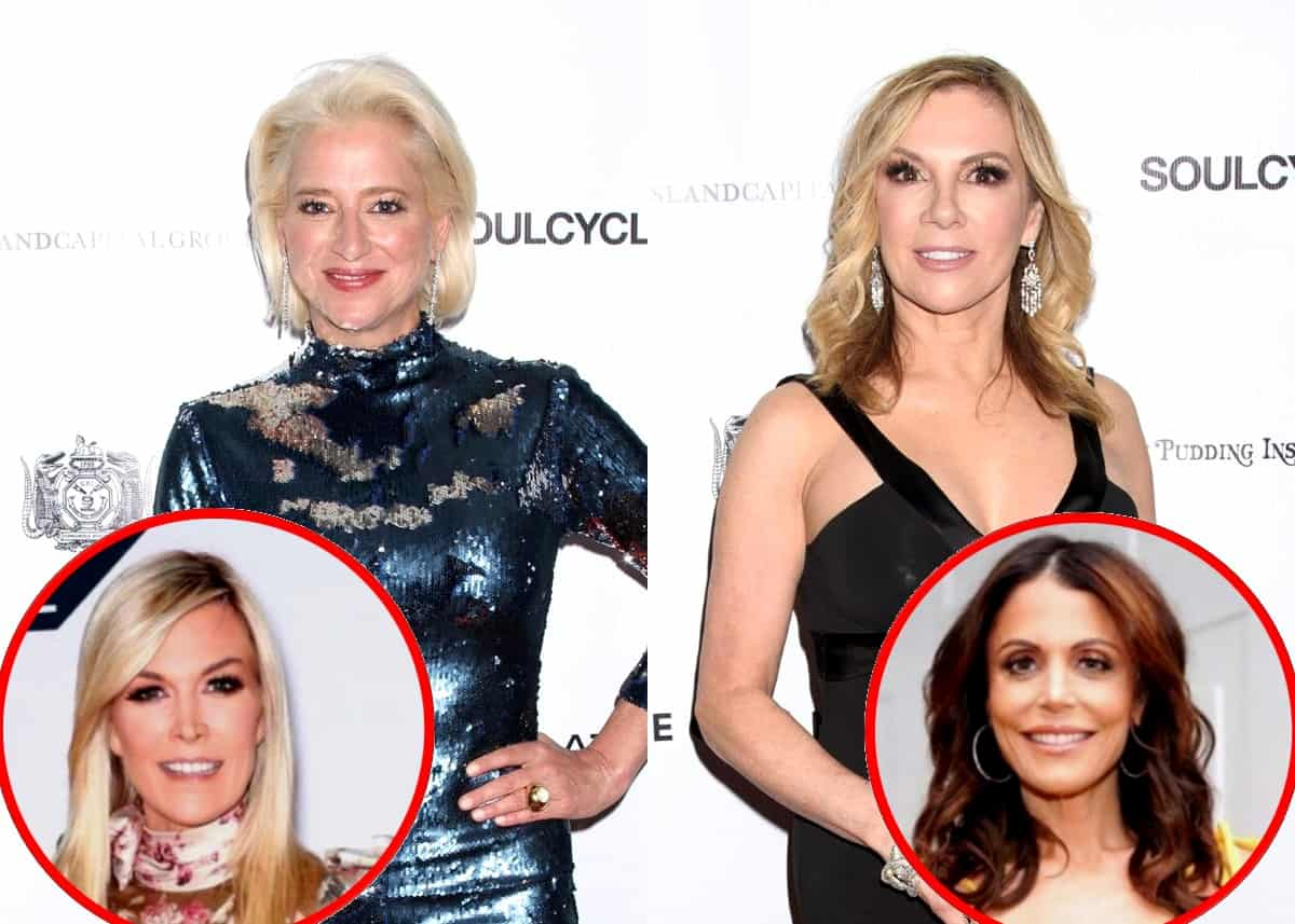 "Dorinda Medley Implies Ramona Singer Pretended to Care About Her For a Storyline, Shades Tinsley for Keeping Life ""Private"" While Doing Reality TV and Calls Bethenny's Departure a ""Huge Loss"""
