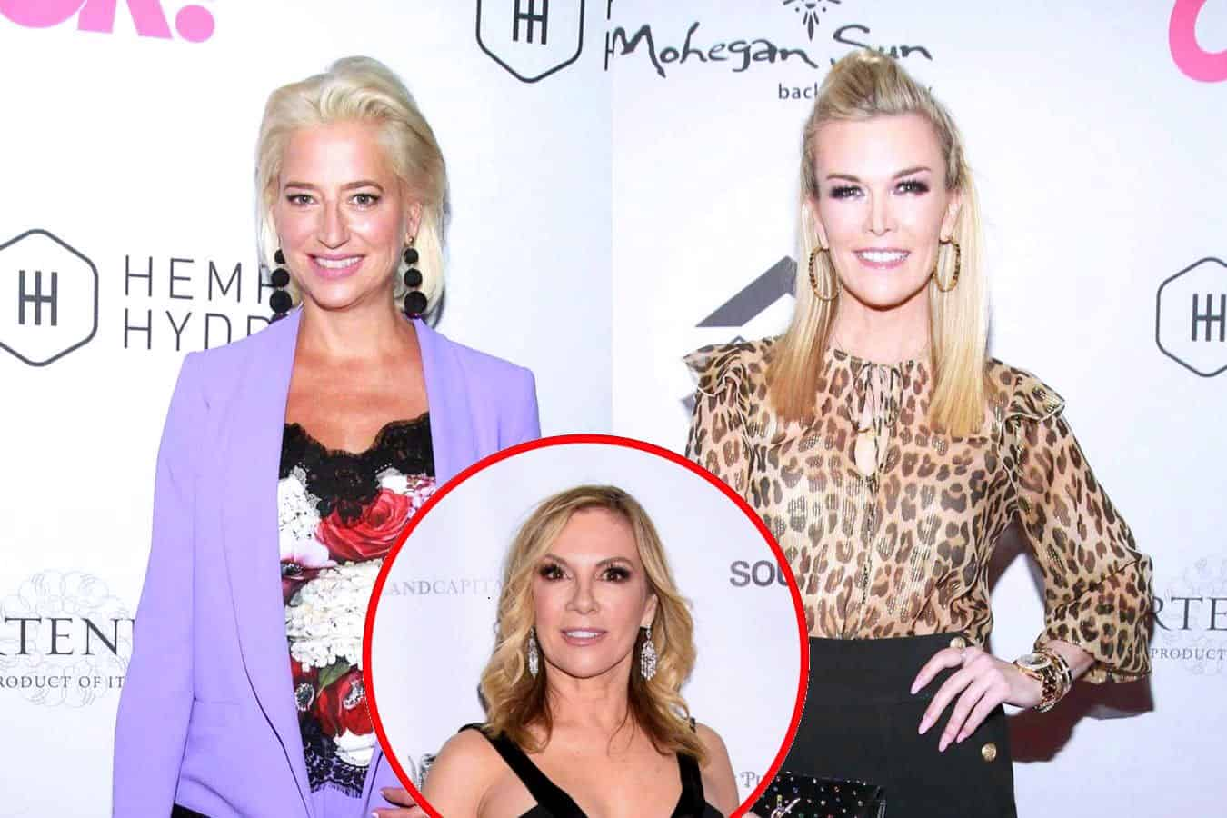 """Dorinda Medley Blasts Tinsley Mortimer as a """"Liar Liar,"""" Says She Lied About Scott For """"Whole Season"""" After RHONY Engagement Episode, Slams Ramona as an """"Opportunist"""""""