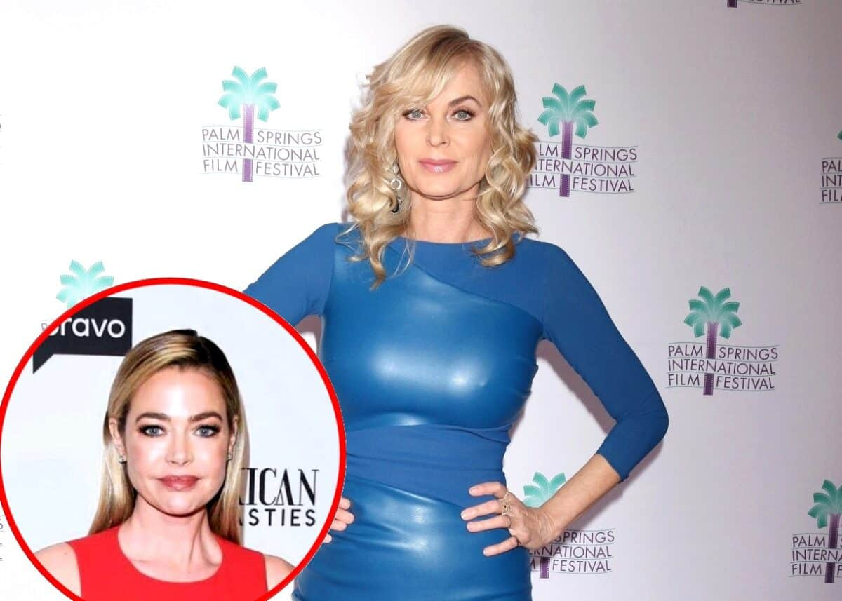 """Eileen Davidson Teases Return to RHOBH, Addresses Denise Affair Rumors, and Admits She Wanted to Quit Show """"Every Other Week"""" Due to Being """"Boring,"""""""