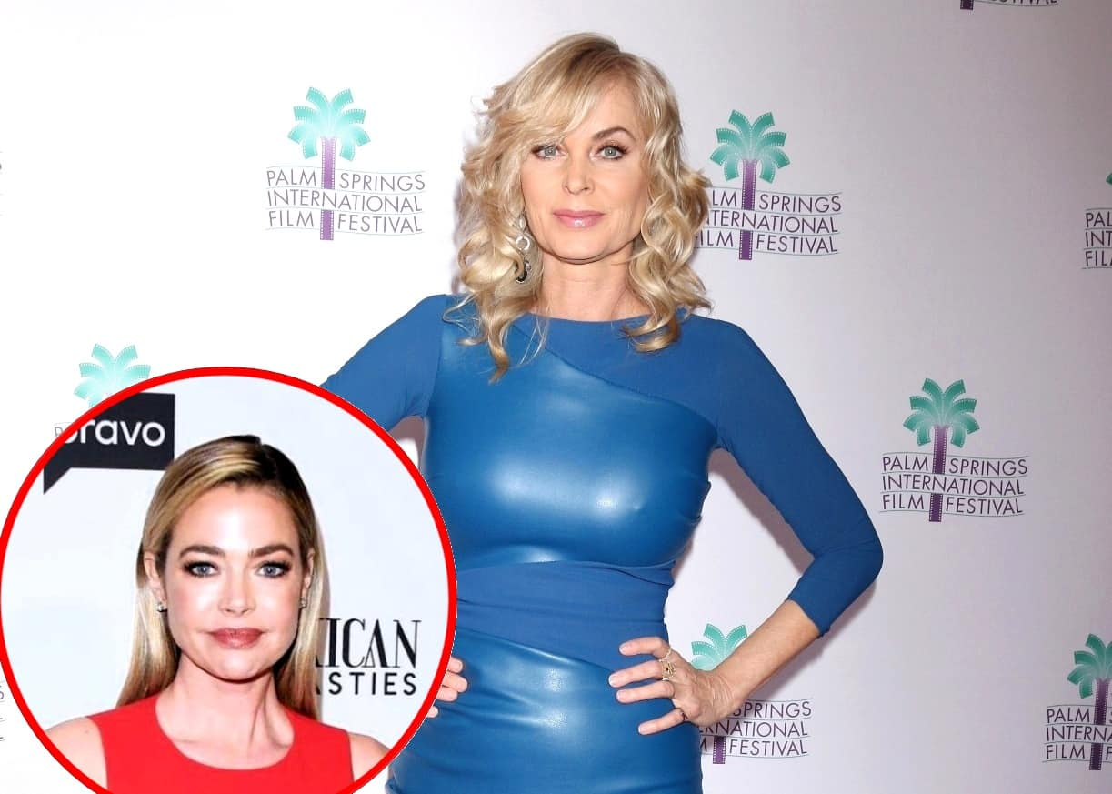 "Eileen Davidson Teases Return to RHOBH, Addresses Denise Affair Rumors, and Admits She Wanted to Quit Show ""Every Other Week"" Due to Being ""Boring,"""