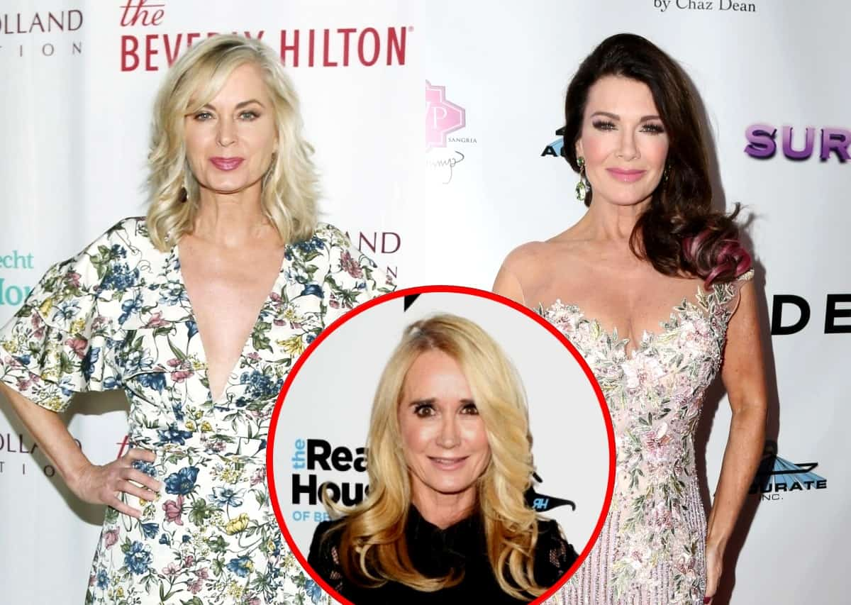 Eileen Davidson Accuses Lisa Vanderpump of Trying to Manufacture Drama on RHOBH, Dishes on Past Feud with Kim Richards