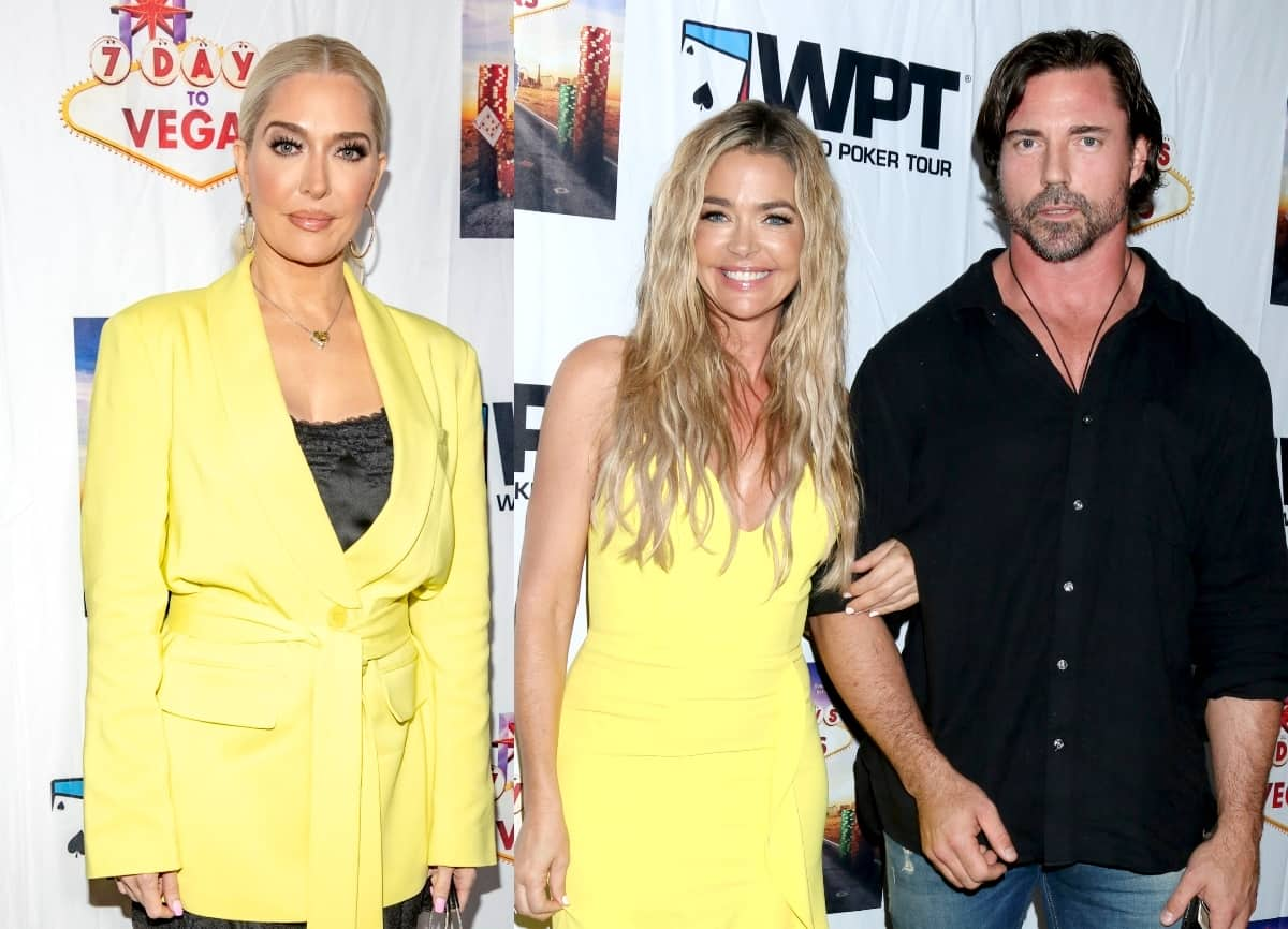"RHOBH's Erika Jayne Tells Denise Richards' Husband Aaron Phypers He Doesn't Need to ""Mansplain"" or ""Talk Down"" to the Cast After Feud as Teddi Mellencamp Slams His ""Aggressive"" Behavior and Suspects He Was Trying to Make the Ladies Feel ""Timid or Nervous"""
