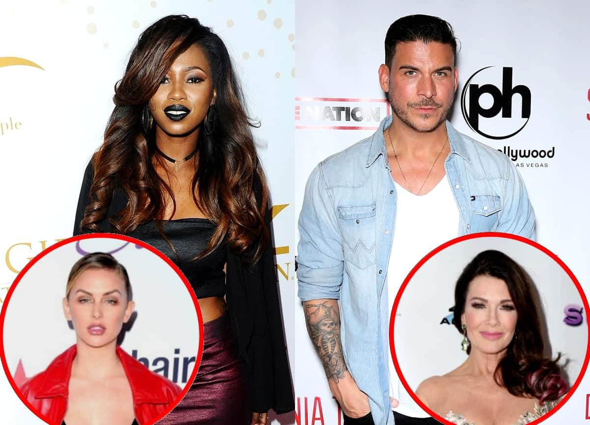 "Faith Stowers Wonders Why Jax Taylor Hasn't Been Fired and Says He Made ""Racial"" Comments to Other Reality Stars, Applauds Lala Kent for Reaching Out and Reacts to Lisa Vanderpump's Statement"