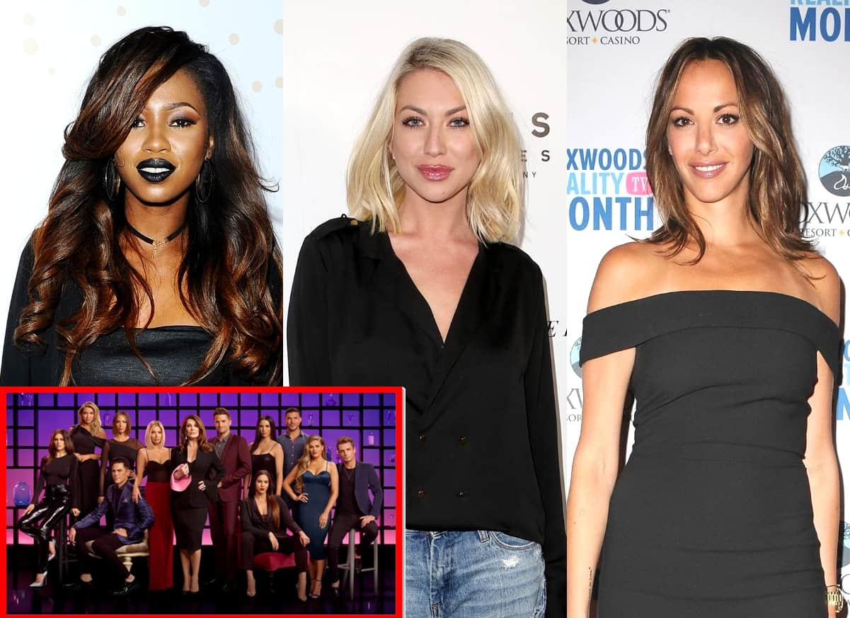 "Faith Stowers Reacts to the Firing of Stassi Schroeder and Kristen Doute From Vanderpump Rules as Rest of the Cast Feels ""Shocked"" About Their Exits"