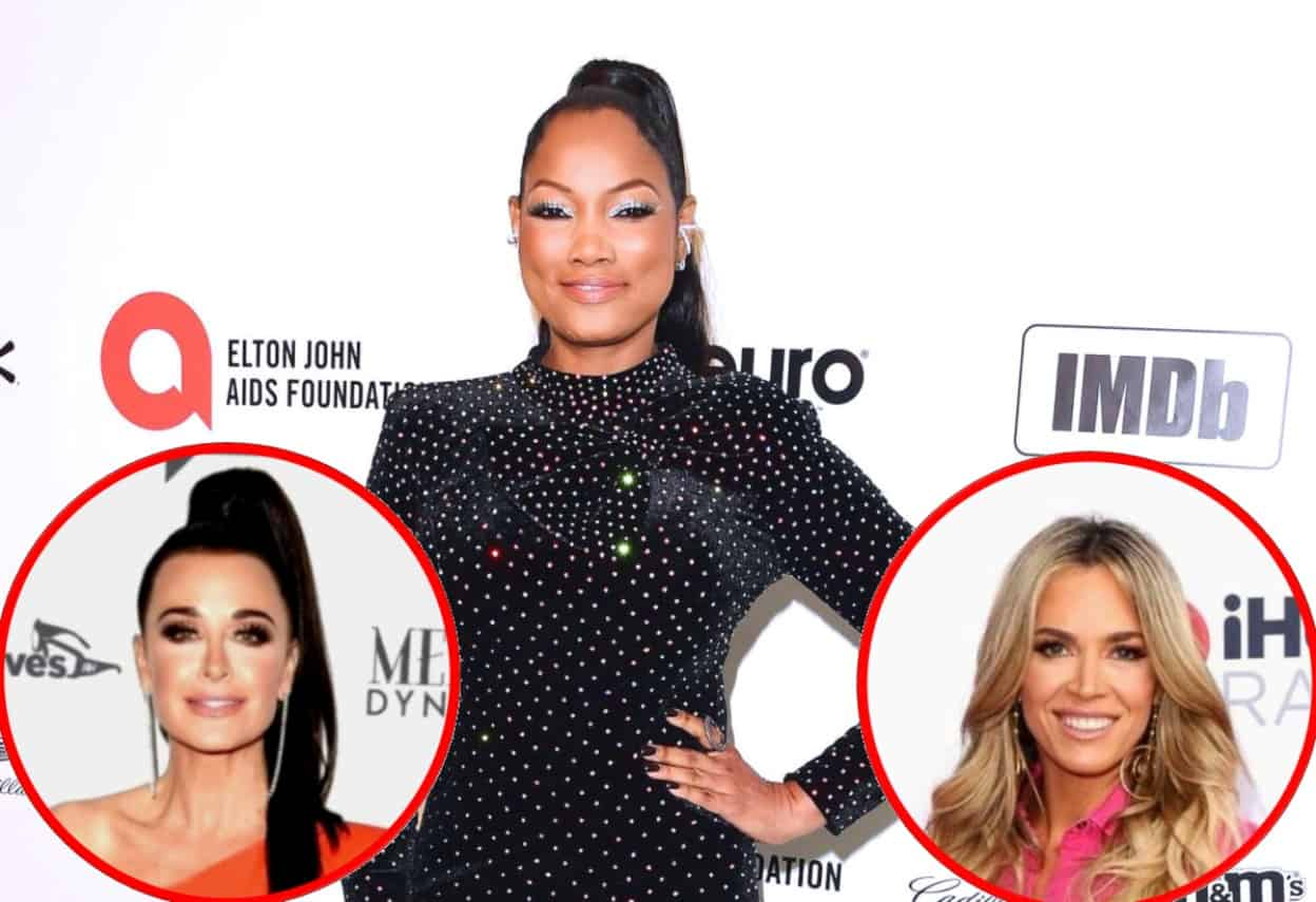 "Garcelle Beauvais Says She Caught Kyle Talking Behind Her Back to Teddi Multiple Times as RHOBH Star Explains Feud, Plus She Shares ""Hardest Part"" of Reality TV and Why She's Not a Fan of ""Cancel Culture"""