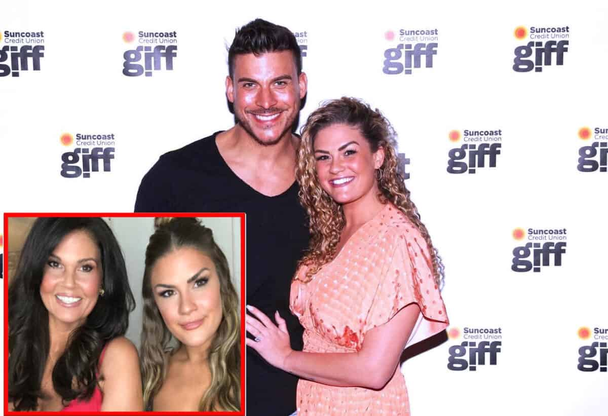 Brittany Cartwright Asks for Prayers as Mom Remains in ICU, See Her Pastor's Plea, Plus is Jax Taylor on the Chopping Block on Vanderpump Rules?