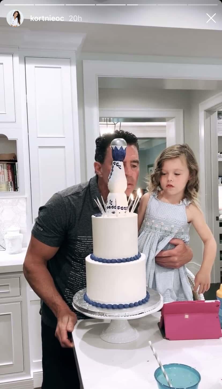 RHOC Jim Edmonds Blows Out Birthday Candles