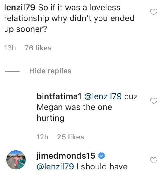 RHOC Jim Edmonds Wishes He Divorced Meghan Sooner