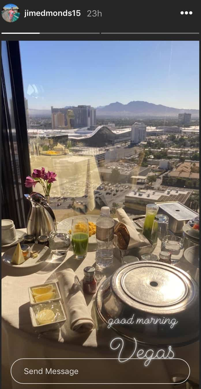 RHOC Jim Edmonds and Kortnie O'Connor Visit Las Vegas
