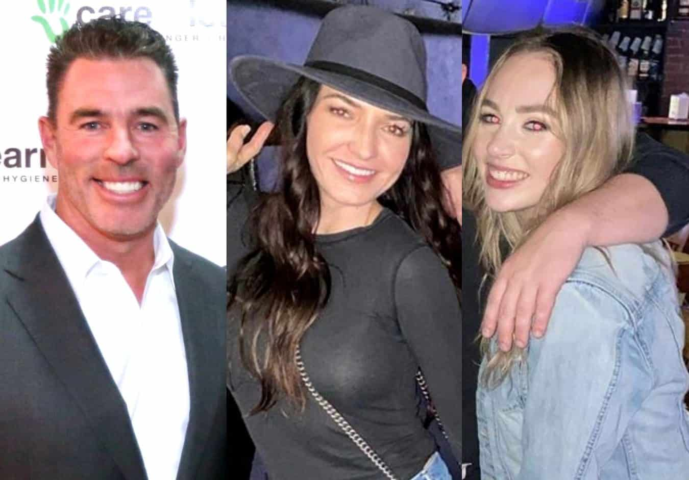 PHOTOS: Jim Edmonds Takes Girlfriend Kortnie and Daughter Hayley to Visit Late Ex-Wife LeAnn's Grave, Plus He Celebrates Daughter Lauren's Pregnancy and Prepares to be a Grandfather