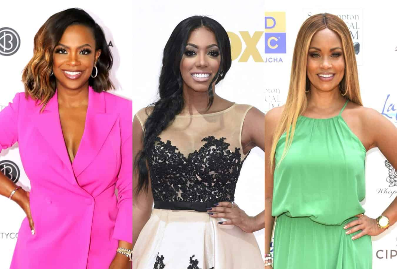 RHOA's Kandi Burruss and Porsha Williams Talk Experiences With Racism, BLM Protests, and How People Can Take Action, Plus RHOP's Gizelle Bryant Speaks Out as Bravo Pledges $100 Million for Social Injustice