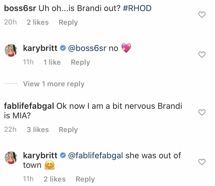 Kary Brittingham Confirms Brandi Redmond Was Not Fired From RHOD Cast