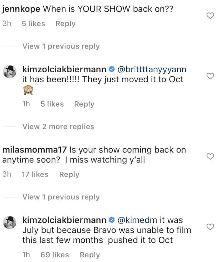 Kim Zolciak Confirms Don't Be Tardy Premiere Date Has Been Pushed to October