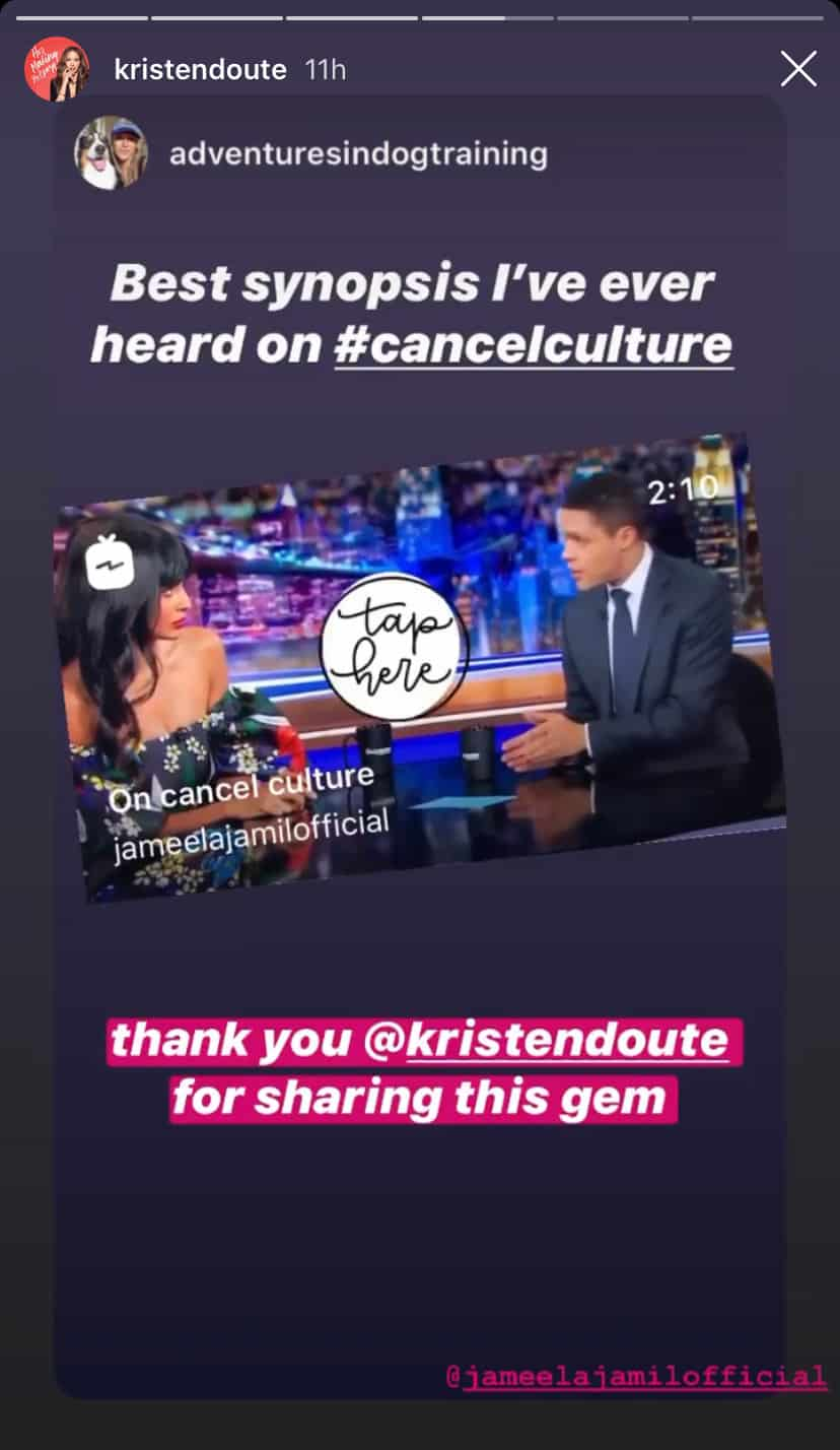 Vanderpump Rules Kristen Doute Calls Out Cancel Culture