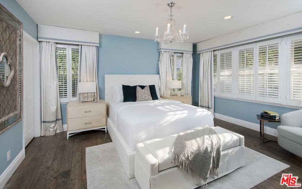 Kyle Richards Mauricio Bel Air home photos guest bedroom 2