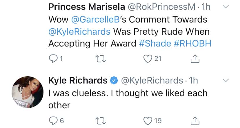 RHOBH Kyle Richards Thought She and Garcelle Beauvais Were Friends