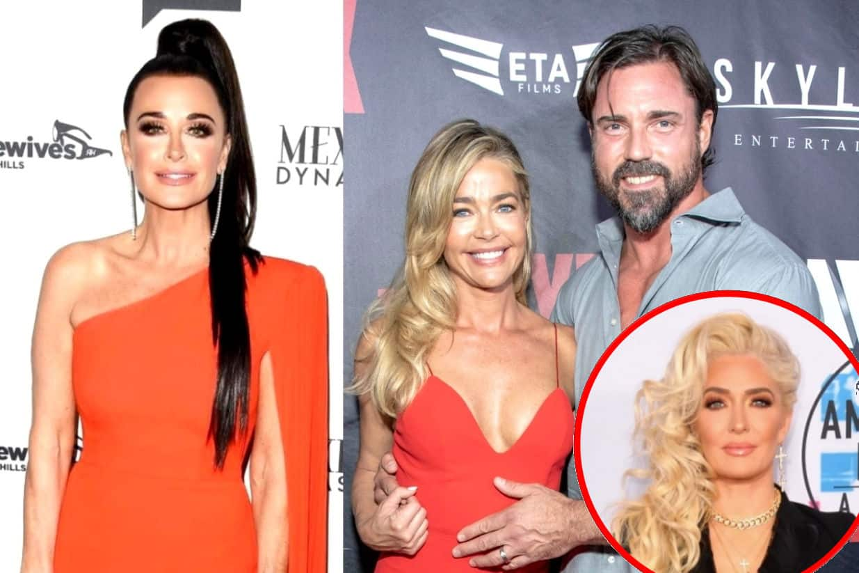 "Kyle Richards Accuses Denise Richards of ""Mom-Shaming"" Her as Erika Jayne Questions if Aaron is a ""Complete Moron"" After He Calls Out the Women, Plus RHOBH Live Viewing Thread!"