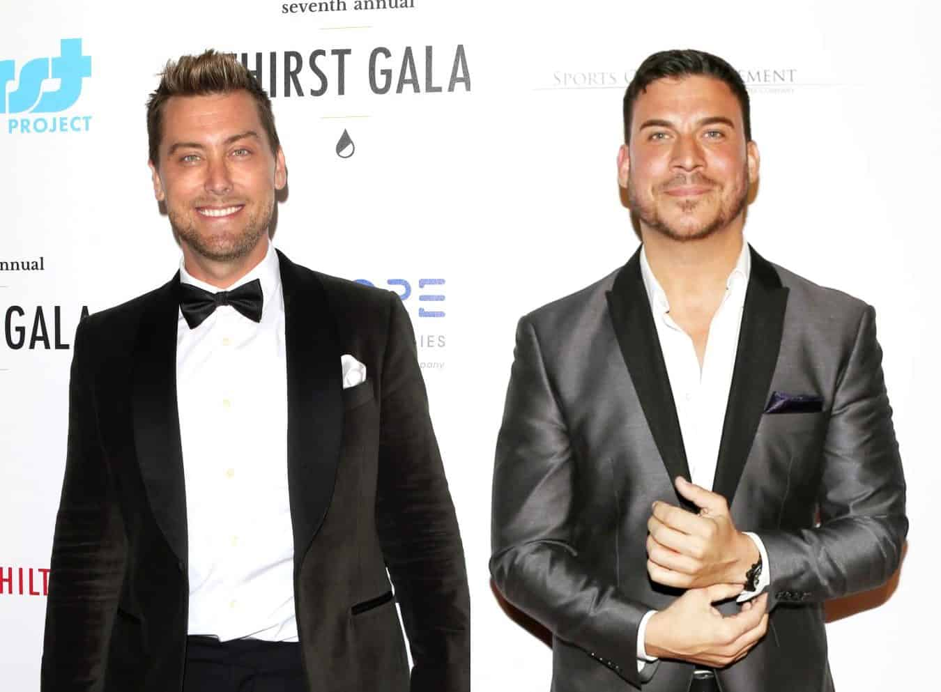 Lance Bass Suggests Jax Taylor Will Be Fired From Vanderpump Rules, Ends Business Relationship With Him and Says He Doesn't Understand Racism as Jax Responds