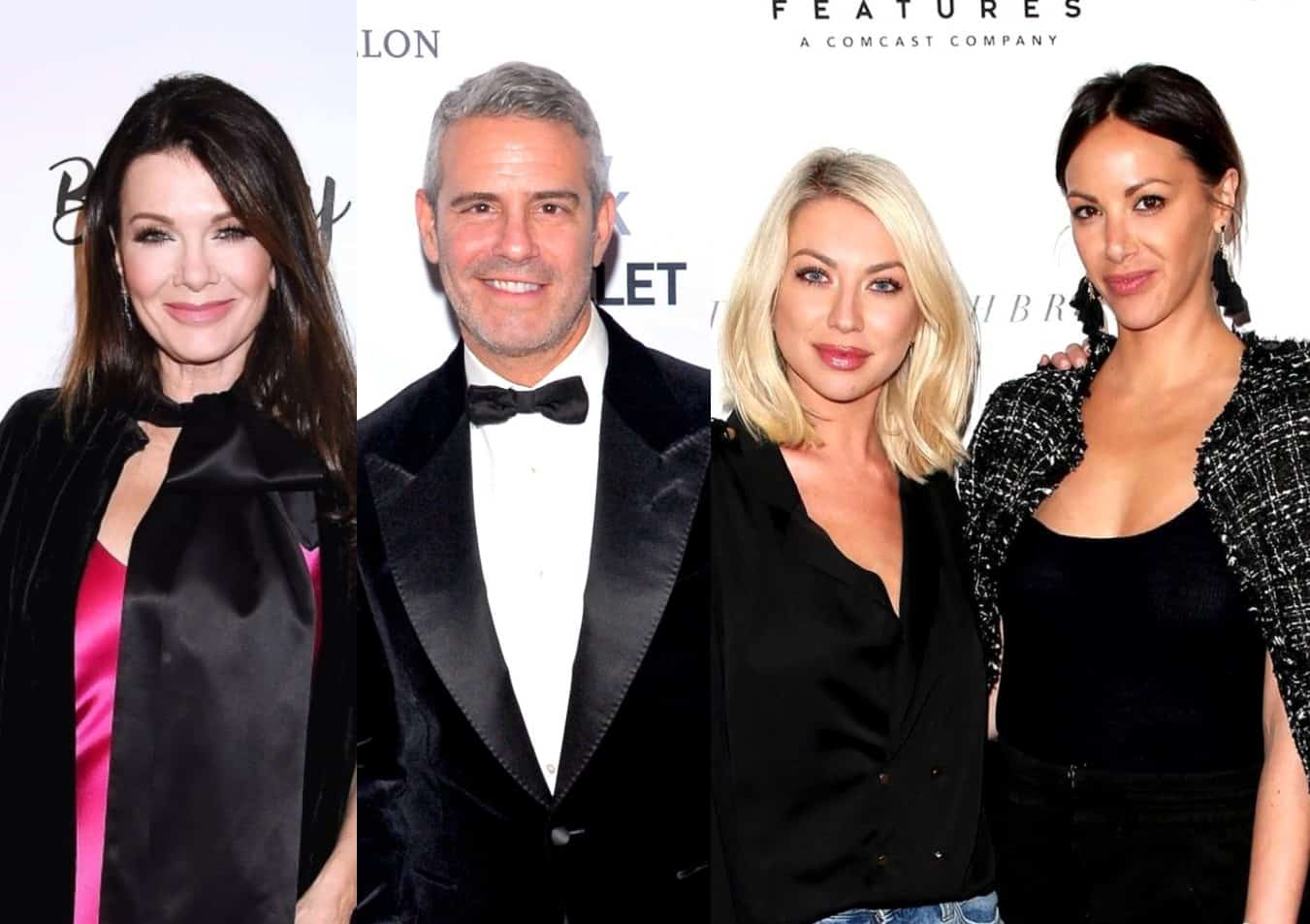 "Lisa Vanderpump and Andy Cohen Speak Out on Firing of Stassi and Kristen as Andy Says He ""Supports"" the Decision and Insists He Doesn't Have Power to Fire Vanderpump Rules Stars"