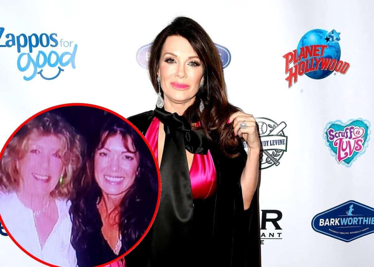 """Lisa Vanderpump Honors Mother Jean on Anniversary of Her Death in Moving Post: """"What a Sad Year It's Been"""""""