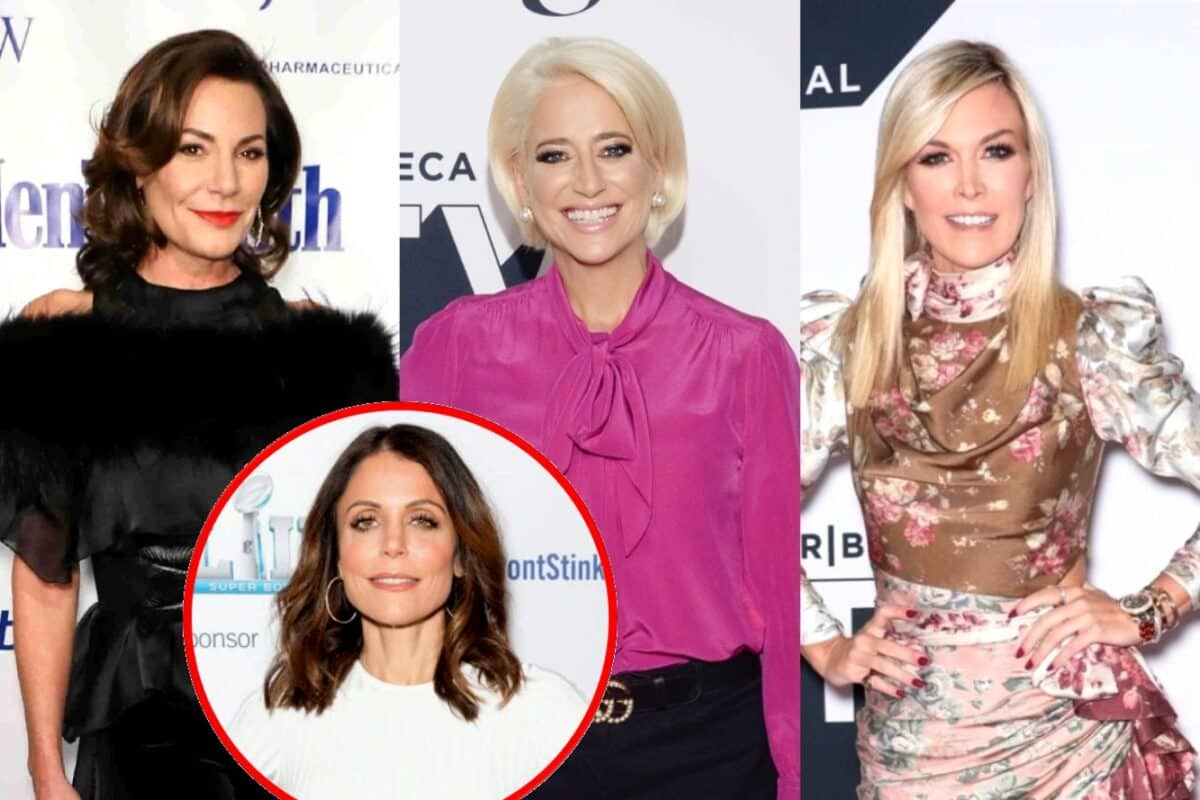 """ann de Lesseps Calls Out Dorinda Medley for Being 'Too Harsh' on Tinsley Mortimer, Thinks Tinsley Was Leading """"Double Life"""" and Reveals if She Still Speaks to Bethenny"""