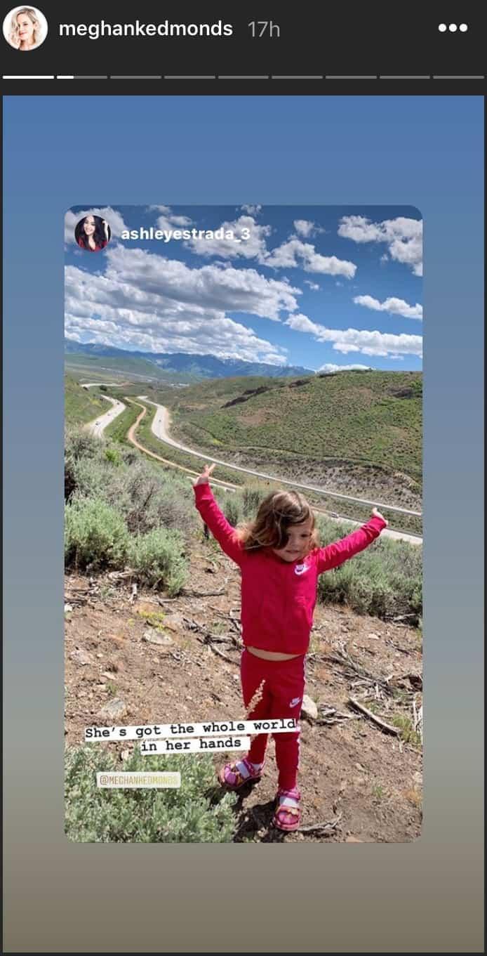 RHOC Meghan King Edmonds' Daughter Aspen Visits Utah
