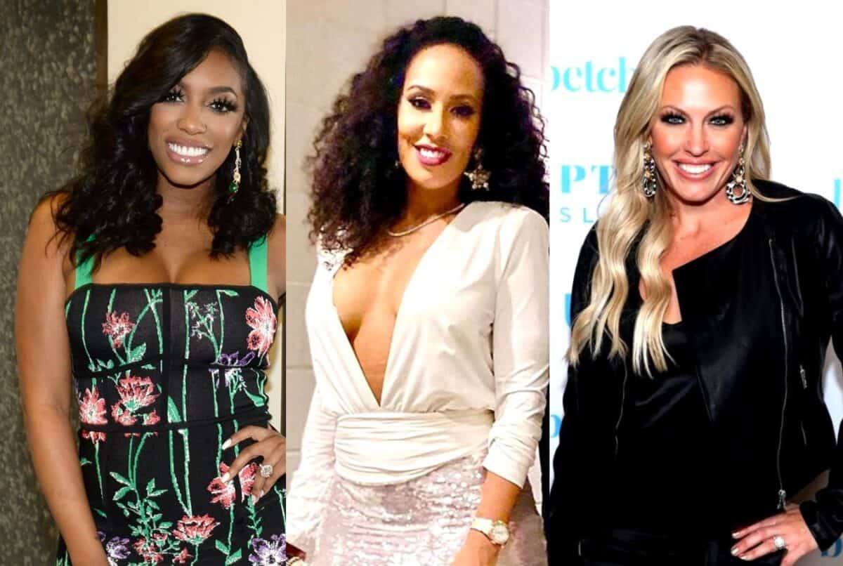 VIDEO: RHOA's Porsha Williams Hits the Streets in Atlanta for a Peaceful Protest as Tanya Sam's Business is Destroyed, Plus RHOC's Braunwyn Windham-Burke Takes a Stand Against White Privilege