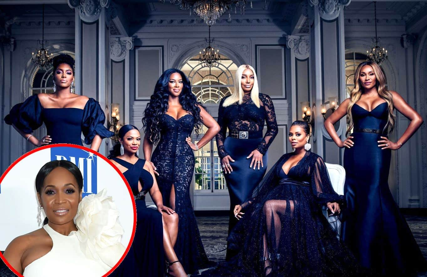 Marlo Hampton Joined by RHOA and RHOP Stars for Black Lives Matter PSA, Explains Kenya Moore's Absence